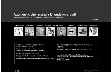 http://www.bauhaus.de/english/index.htm