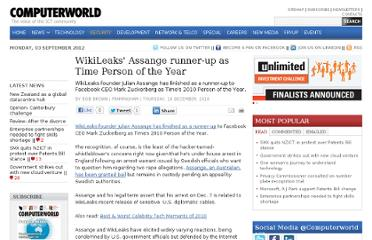 http://computerworld.co.nz/news.nsf/security/wikileaks-assange-runner-up-as-time-person-of-the-year