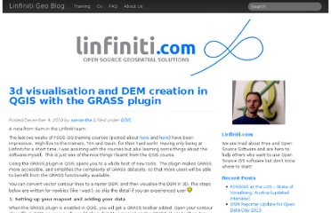 http://linfiniti.com/2010/12/3d-visualisation-and-dem-creation-in-qgis-with-the-grass-plugin/