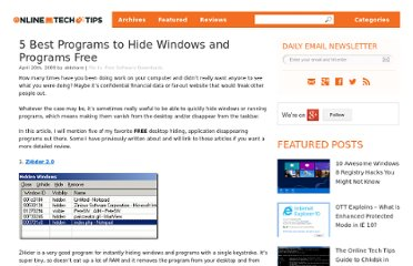 http://www.online-tech-tips.com/free-software-downloads/hide-windows-programs-desktop-taskbar/