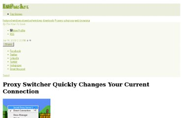 http://lifehacker.com/5130903/proxy-switcher-quickly-changes-your-current-connection