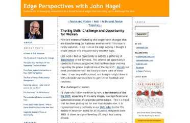 http://edgeperspectives.typepad.com/edge_perspectives/2010/12/the-big-shift-challenge-and-opportunity-for-women.html