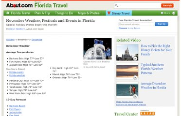 http://goflorida.about.com/od/allaboutflorida/a/november.htm