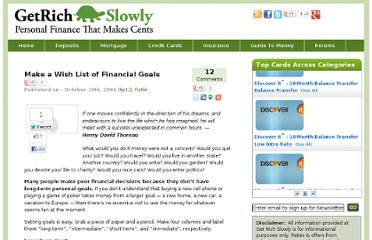 http://www.getrichslowly.org/blog/2006/10/18/make-a-wish-list-of-financial-goals/