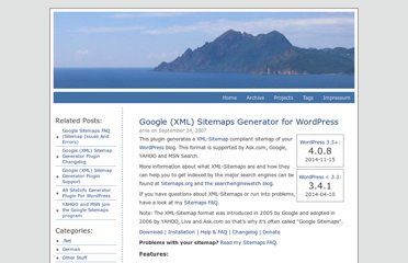 http://www.arnebrachhold.de/projects/wordpress-plugins/google-xml-sitemaps-generator/