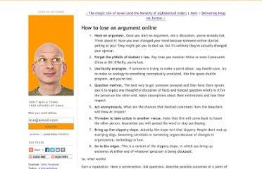 http://sethgodin.typepad.com/seths_blog/2009/11/how-to-lose-an-argument-online.html