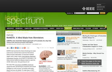 http://spectrum.ieee.org/robotics/artificial-intelligence/moneta-a-mind-made-from-memristors/2