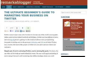 http://remarkablogger.com/2009/07/23/ultimate-beginners-guide-marketing-business-twitter/