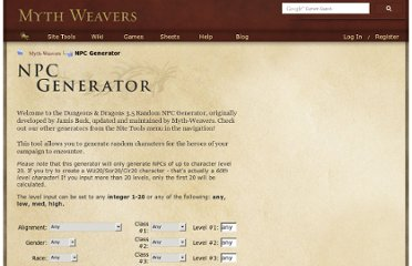 http://www.myth-weavers.com/generate_npc.php?do=npcgen