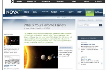 http://www.pbs.org/wgbh/nova/space/favorite-planet.html