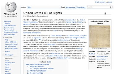 http://en.wikipedia.org/wiki/United_States_Bill_of_Rights