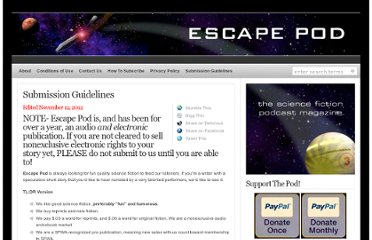http://escapepod.org/guidelines/