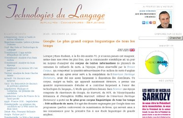 http://blog.veronis.fr/2010/12/google-le-plus-grand-corpus.html