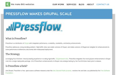 http://fourkitchens.com/pressflow-makes-drupal-scale