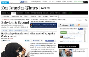 http://latimesblogs.latimes.com/babylonbeyond/2009/05/iran-reading-agatha-christie-in-the-islamic-republic.html