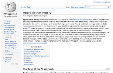 http://en.wikipedia.org/wiki/Appreciative_inquiry