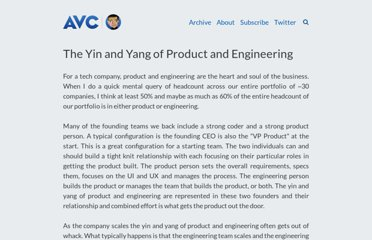 http://www.avc.com/a_vc/2010/05/the-yin-and-yang-of-product-and-engineering.html