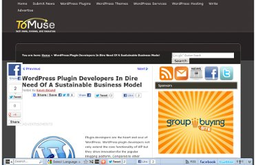 http://tomuse.com/wp-plugins-developer-business-model/