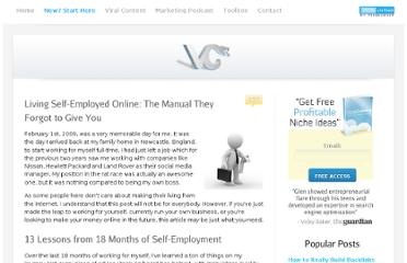 http://www.viperchill.com/self-employment-manual/