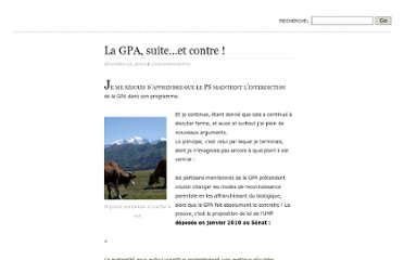 http://sandrine70.wordpress.com/2010/12/15/la-gpa-suite-et-contre/#comments