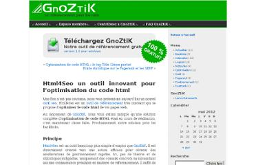 http://blog.gnoztik.com/optimisation/html4seo-outil-seo-optimisation-code-html/