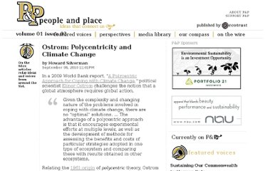 http://www.peopleandplace.net/on_the_wire/2010/9/8/ostrom_polycentricity_and_climate_change