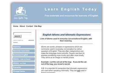 http://www.learn-english-today.com/idioms/idioms_proverbs.html