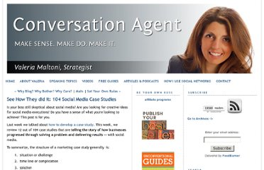 http://www.conversationagent.com/2010/08/see-how-they-did-it-104-social-media-case-studies.html