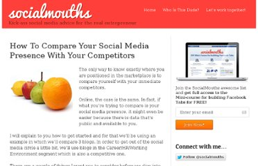 http://socialmouths.com/blog/2010/06/21/how-to-compare-your-social-media-presence-with-your-competitors/