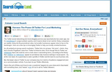 http://searchengineland.com/how-to-use-twitter-for-local-marketing-16809