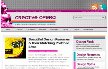 http://www.creativeopera.com/2009/beautiful-design-resumes-and-their-matching-portfolio-websites/