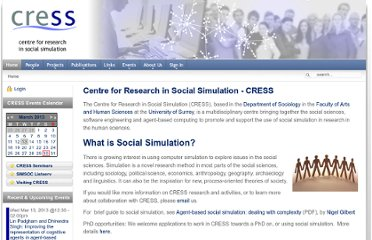 http://cress.soc.surrey.ac.uk/web/home