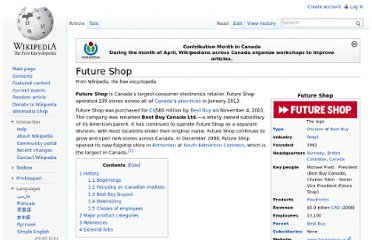 http://en.wikipedia.org/wiki/Future_Shop
