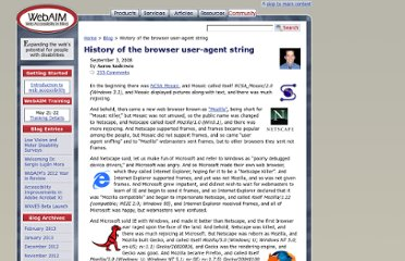 http://webaim.org/blog/user-agent-string-history/