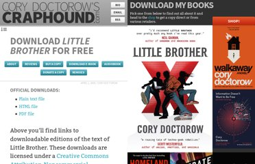 http://craphound.com/littlebrother/download/