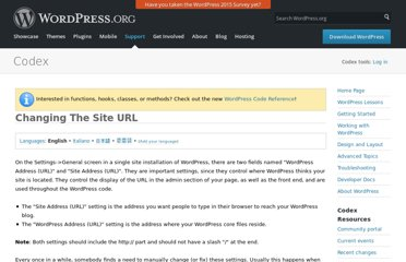 http://codex.wordpress.org/Changing_The_Site_URL