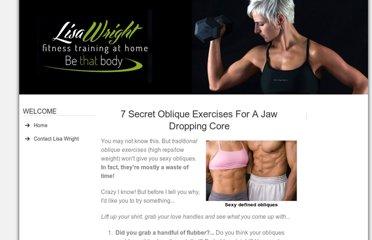 http://www.fitness-training-at-home.com/oblique-exercises.html