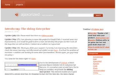 http://ajaxorized.com/introducing-the-sliding-date-picker/