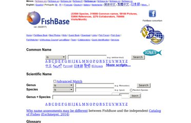http://www.fishbase.org/search.php