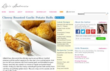 http://www.lifesambrosia.com/2009/12/cheesy-roasted-garlic-potato-balls-recipe.html