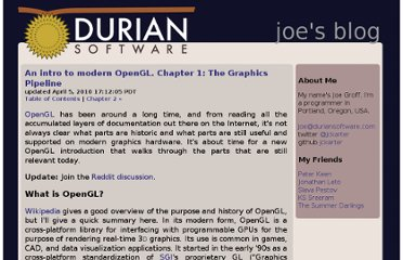 http://duriansoftware.com/joe/An-intro-to-modern-OpenGL.-Chapter-1:-The-Graphics-Pipeline.html