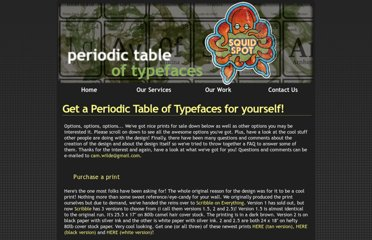 http://www.squidspot.com/Periodic_Table_of_Typefaces.html