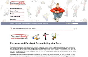 http://www.connectsafely.org/Safety-Advice-Articles/facebook-privacy-chart-for-teens.html