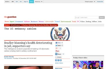 http://www.guardian.co.uk/world/2010/dec/16/bradley-manning-health-deteriorating