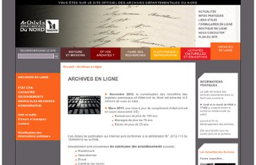 http://www.archivesdepartementales.cg59.fr/?id=archives_online