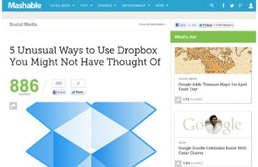 http://mashable.com/2010/12/18/dropbox-uses/
