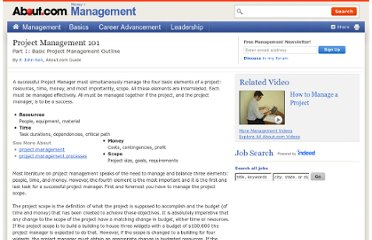 http://management.about.com/cs/projectmanagement/a/PM101.htm