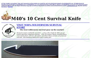 http://www.m4040.com/Survival/10_Cent_Survival_Knife/10_Cent_Survival_Knife.htm