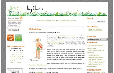 http://tinychoices.com/2009/09/24/diy-body-care/