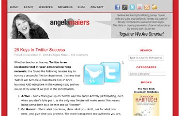 http://www.angelamaiers.com/2008/12/26-keys-to-twitter-success.html